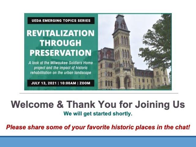 WEBINAR: Revitalization Through Preservation