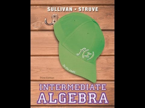 Intermediate Algebra Sullivan 3rd Edition