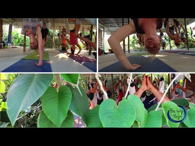 Blue Indigo Yoga Center Siem Reap Aerial yoga