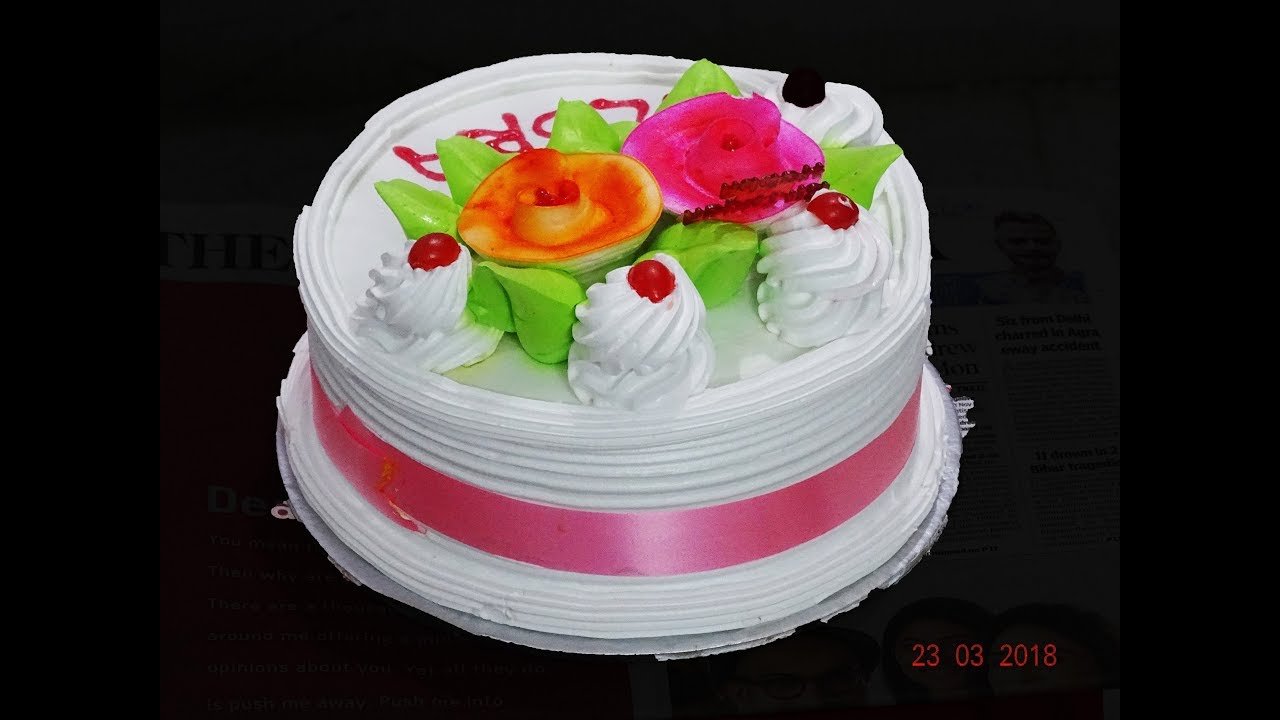 41st Happy Birthday Cake Of Ilora Mandal As On 23 03 2018 Youtube