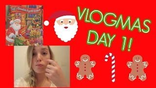 CHEER, SICK BENNY, & MORE! | Vlogmas #1! Thumbnail