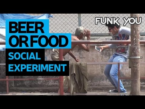 Beer For The Poor! - Social Experiment By Funk You (Prank In India)