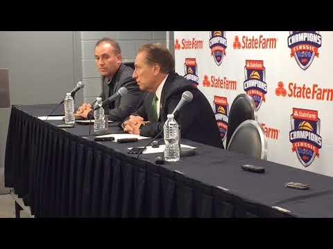 Tom Izzo recaps Michigan State's loss to Duke