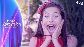 'MARTE': CANCIÓN COMPLETA con letra | Eurovisión Junior 2019
