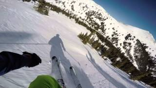Cooper Mountain Skiing 4K