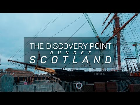 Scotland - Discovery Point, the RRS Discovery Museum in Dundee