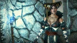 How to Explode a Buxom Sorceress: Death of Sile de Tansarville (The Witcher 2)