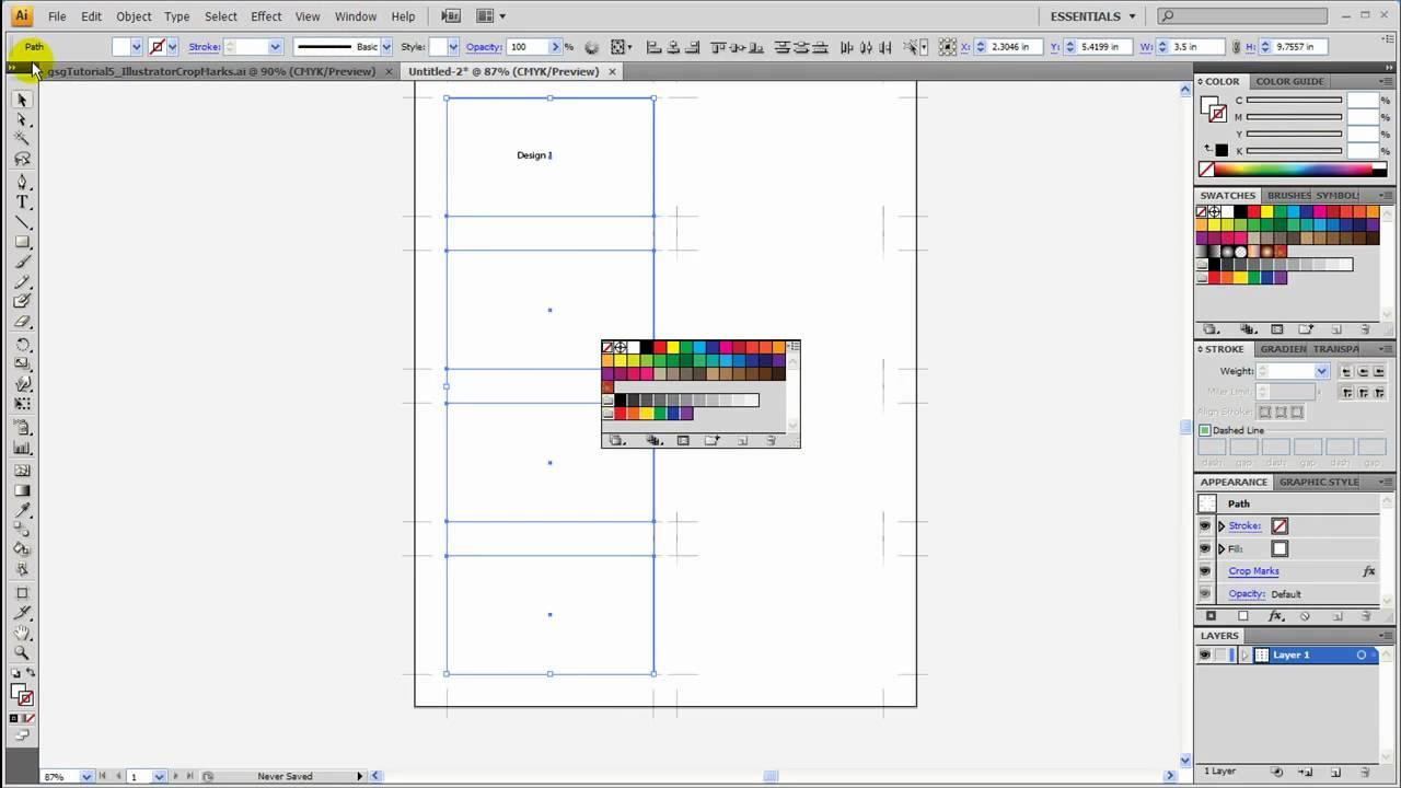 CROP MARKS ILLUSTRATOR CS5 PDF DOWNLOAD