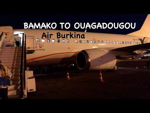 TRIP REPORT | AIR BURKINA - ECONOMY | BAMAKO TO OUAGADOUGOU | BOEING B735 |  DEPARTURE LOUNGE