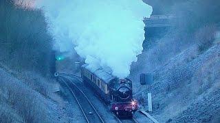 GWR 4965 - Thunders Up Arley Bank - The Lindum Xmas Fayre