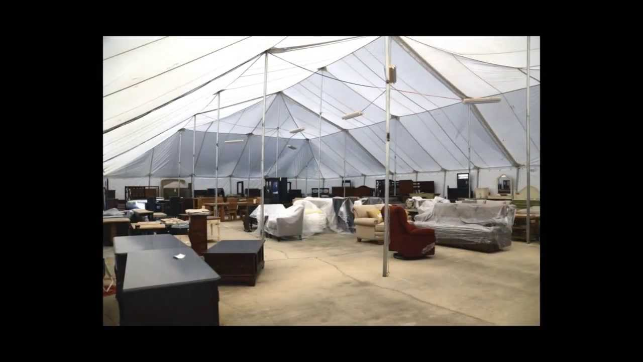 Woodchucku0027s Furniture   The Annual Tent Sale Is Here!   YouTube
