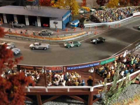 1 87 scale racing diorama in 2 39 x 3 39 slide show youtube. Black Bedroom Furniture Sets. Home Design Ideas
