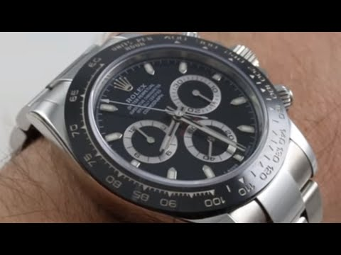 Rolex Daytona Ceramic 116500LN Black Dial Luxury Watch Review