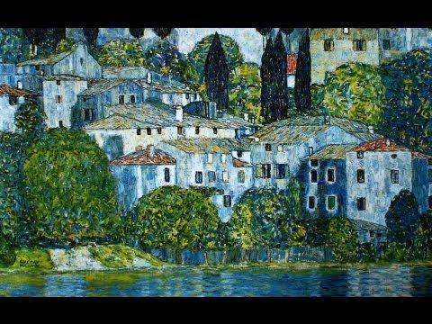 Gustav Klimt natura e paesaggi  YouTube