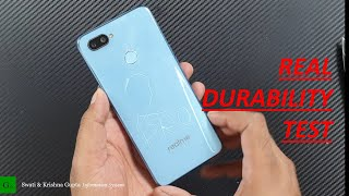 Oppo RealMe 2 Pro Durability (SCRATCH DROP BEND WATER) Test !