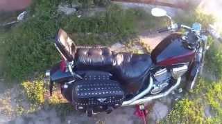 DIY: Honda Steed настройка амортизатора(Настройка амортизатора мотоцикла Honda Steed, также небольшое