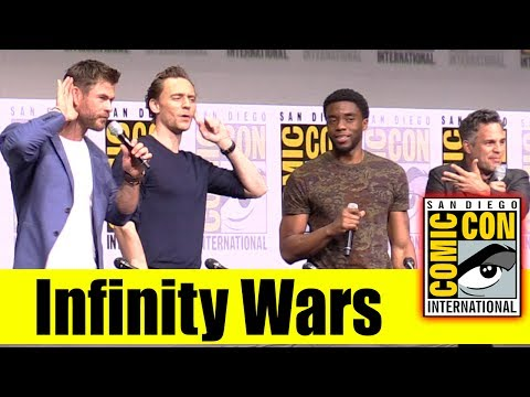 Marvel's Avengers: INFINITY WAR | 2017 Comic Con Panel Trailer Announcement
