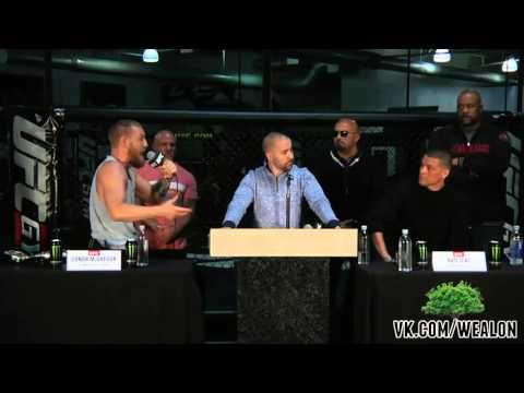 Пресс конференция UFC 196  McGregor Vs Diaz русская озвучка от My Life Is MMA