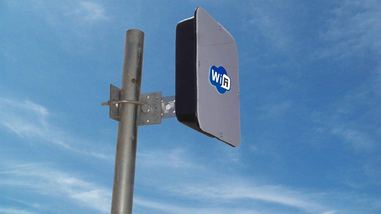 Antena Wifi De 6km De Alcance Facil De Hacer Youtube
