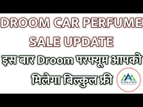 Droom Car Perfume Sale Update 2018