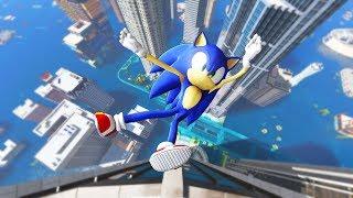 GTA 5 Water Ragdolls Sonic Jumps/Fails #26 (Euphoria physics | Funny Moments)