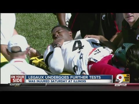 UC quarterback suffers gruesome injury