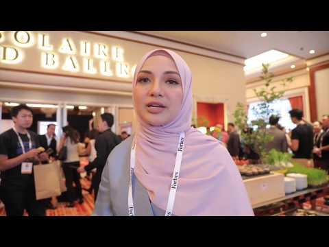 Neelofa at Forbes Under 30 Summit Asia, Manilla Phillipines July 2017