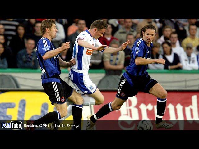 2005-2006 - Jupiler Pro League - 34. Club Brugge - Racing Genk 3-0