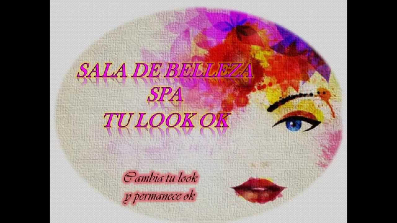 Logo y slogan empresrial salon de belleza spa tu look ok for Spa y salon de belleza