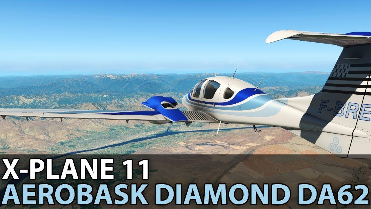 Nobody Goes to Fresno, Aerobask Diamond DA-62, PilotEdge ✈️ 2018-03-24
