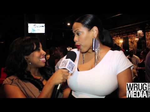 Nicci Gilbert discusses relationship with Angie Stone & Latoscha Scott at R&B Divas Premiere