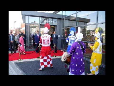 Prince Edward visits  Leicester