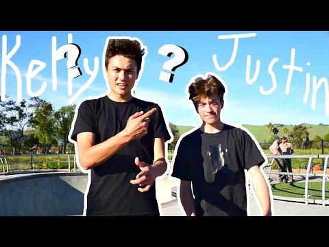 Justin CHALLENGES me?! - Game of SKATE