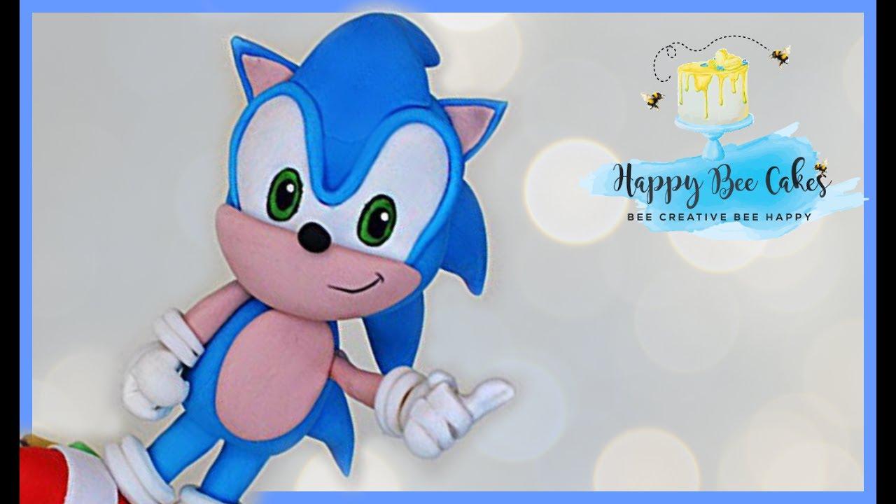 How To Make Sonic Sega Cakes Youtube