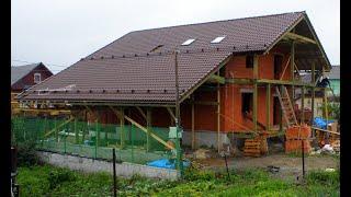Шале в Исети(Стройка началась весной 2013г. За сезон был построен подвал. В мае 2014г начали строить дом. К ноябрю освоили..., 2015-01-04T20:00:00.000Z)