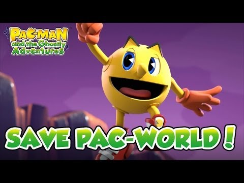 PAC-MAN And The Ghostly Adventures - PS3/X360/PC Digital/3DS/Wii U - Save Pac-World! (trailer)
