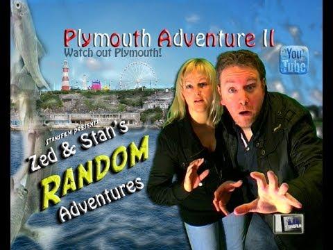 Zed & Stan's RANDOM Adventures: #VLOG 23 - Plymouth Adventure II