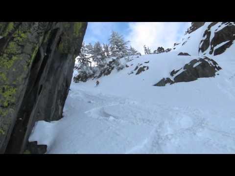 Skiing Mount Tallac - The Cross 2011