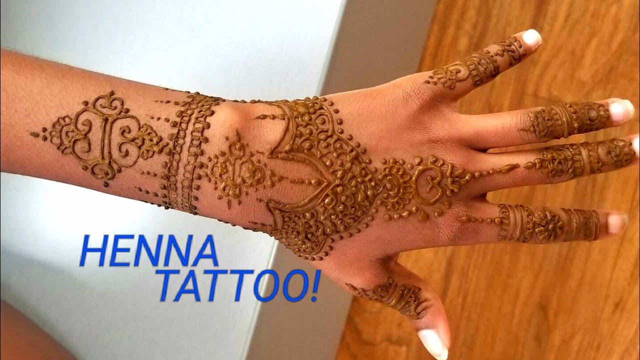 Henna Tattoo Tips : First time getting a henna tattoo plus amazing tips