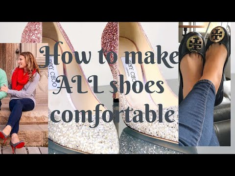 EASY WAY to Make Tory Burch Reva Flats and all shoes TRULY Comfortable! STYLE SECRET!