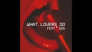 What Lovers Do feat SZA Instrumental Official Audio Maroon