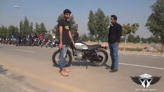 Suzuki gs 150 Cafe Racer from Lahore