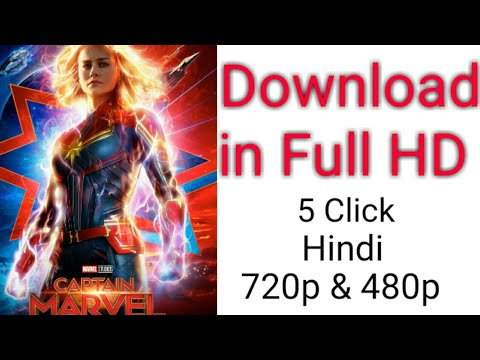 Download How to Download Captain Marvel 2019 Full Movie In Hindi HD fast server