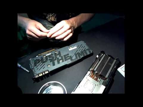 [Live] Zotac GTX 980 Ti AMP! Disassembly