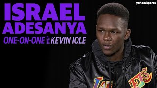 Israel Adesanya looks ahead to bout against Yoel Romero in UFC 248