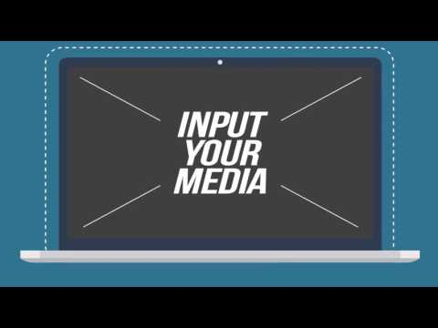 website service product presentation | after effects template, Presentation templates