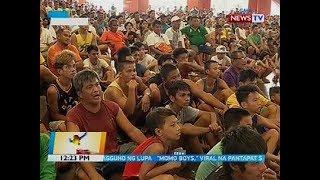Public viewing places para sa bakbakang Pacquiao-Matthysse, dinagsa ng mga manonood