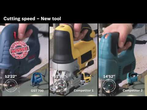 Видео обзор: Лобзик BOSCH GST 700