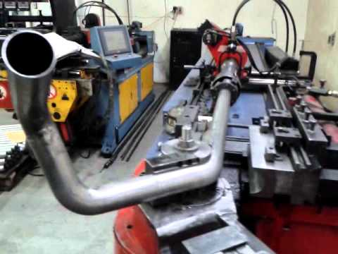 Exhaust Tubing Bender >> Tube Bending Exhaust Youtube