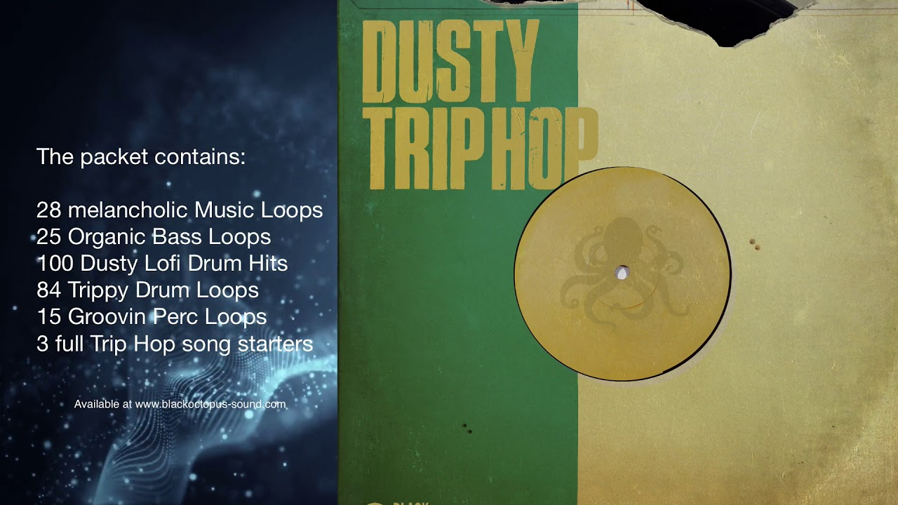 Black Octopus Sound - Dusty Trip Hop (samples & loops) #1